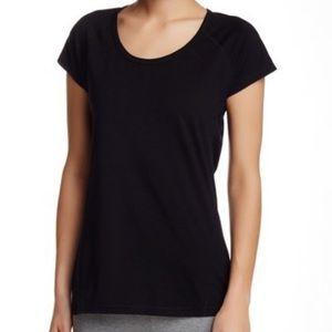 Z by Zella scoop neck favorite black t shirt